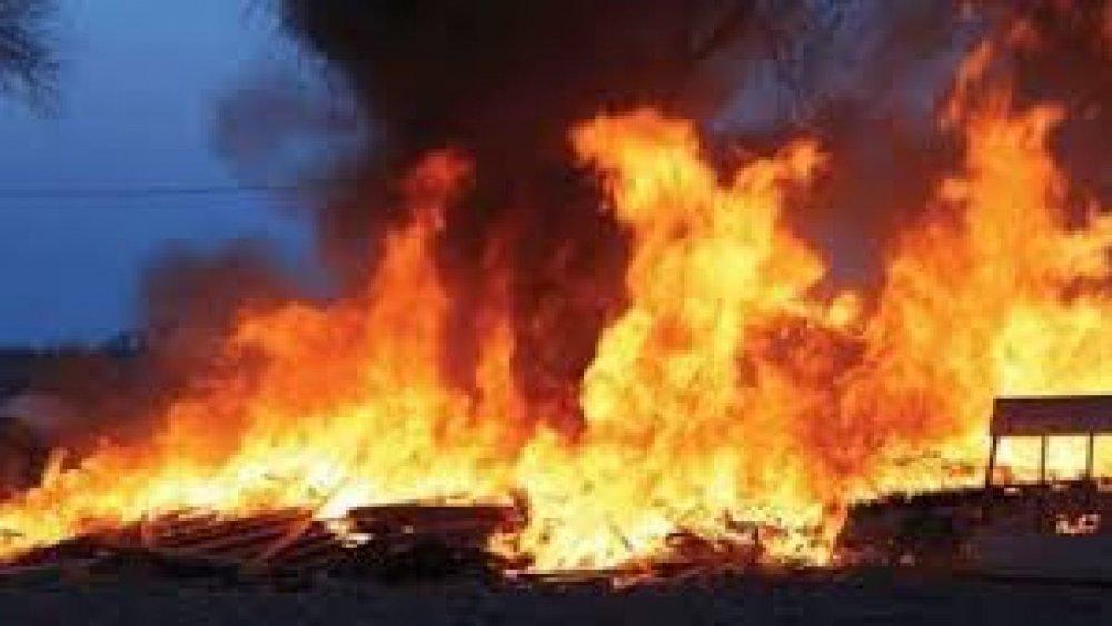Fire Razes Katsina Central Market